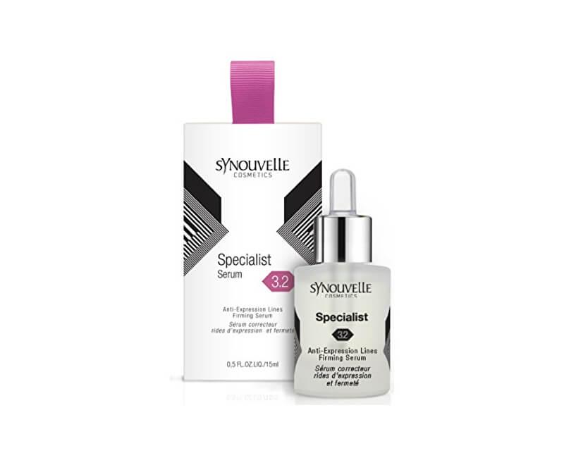 Synouvelle Cosmeceuticals Sérum pro pružnou a vypnutou pokožku a méně vrásek 3.2 (Specialist Serum) 15 ml