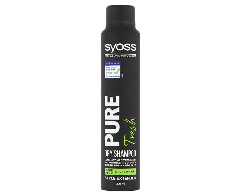 Syoss Suchý šampon Pure Fresh (Dry Shampoo) 200 ml