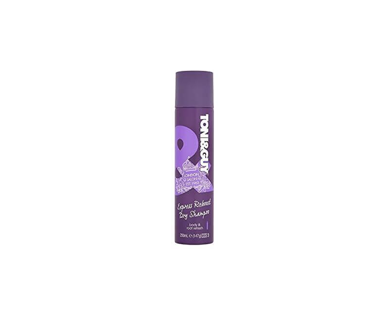 Toni&Guy Suchý šampon pro extra objem (Reboost Dry Shampoo) 250 ml<br /><strong>Obrázek je ilustrativní.</strong>