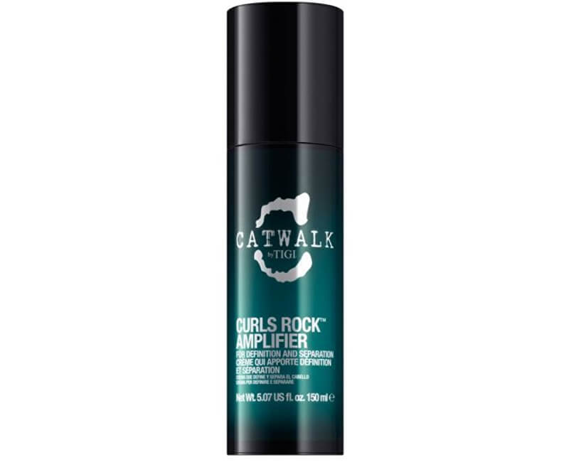 Tigi Krém pro vlnité a trvalené vlasy Catwalk Curlesque Curl Collection (Curls Rock Amplifier Cream) 150 ml