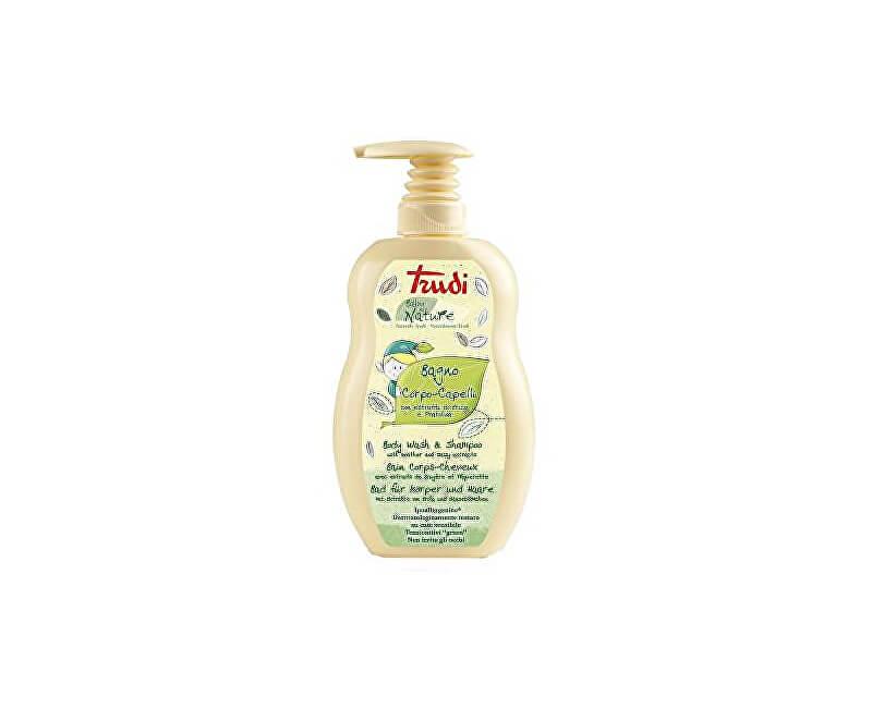 Trudi Nature hypoalergenní dětské koupelové mléko a šampon s výtažky ze sedmikrásky a vřesu 400 ml