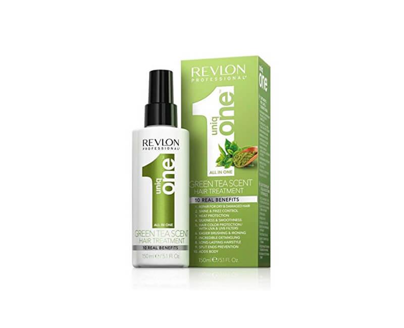 Uniq One Bezoplachová péče ve spreji se zeleným čajem Green Tea (Hair Treatment) 150 ml