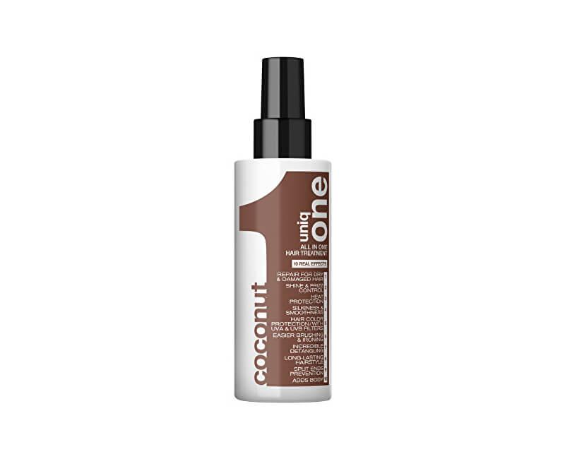 Uniq One Kokosová vlasová kúra 10 v 1 (All In One Hair Treatment Coconut) 150 ml