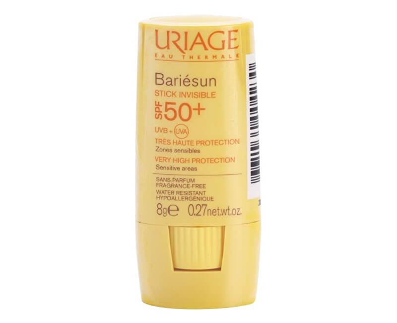 Uriage Ochranná tyčinka na citlivá místa SPF 50+ Bariésun (Stick Invisible) 8 g