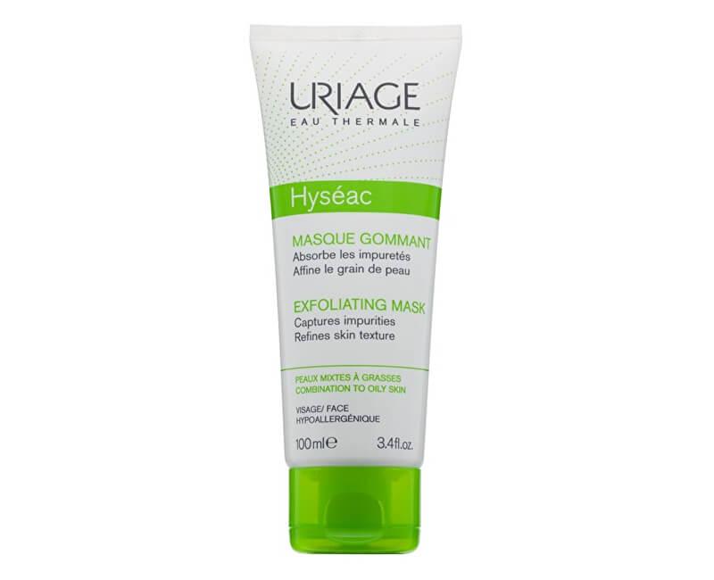 Uriage Peelingová maska pre zmiešanú a mastnú pleť Hyséac (Exfoliating Mask) 100 ml