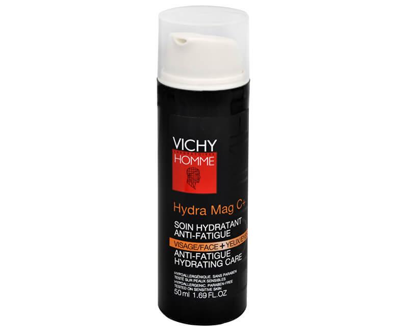 Vichy Hydratační péče na pleť a oční okolí proti známkám únavy Hydra Mag C+ 50 ml