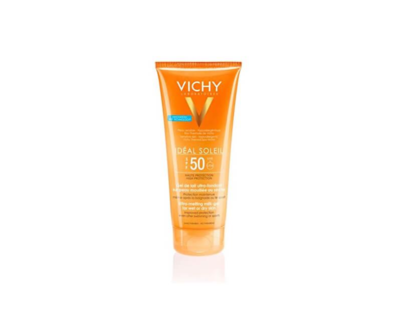Vichy Ultratající mléčný gel pro citlivou pleť SPF 50 Idéal Soleit (Ultra-Melting Milk-Gel) 200 ml