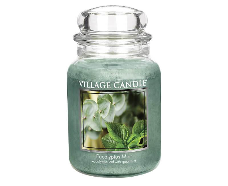 Village Candle Vonná svíčka ve skle Eukalyptus a máta (Eucalyptus Mint) 645 g