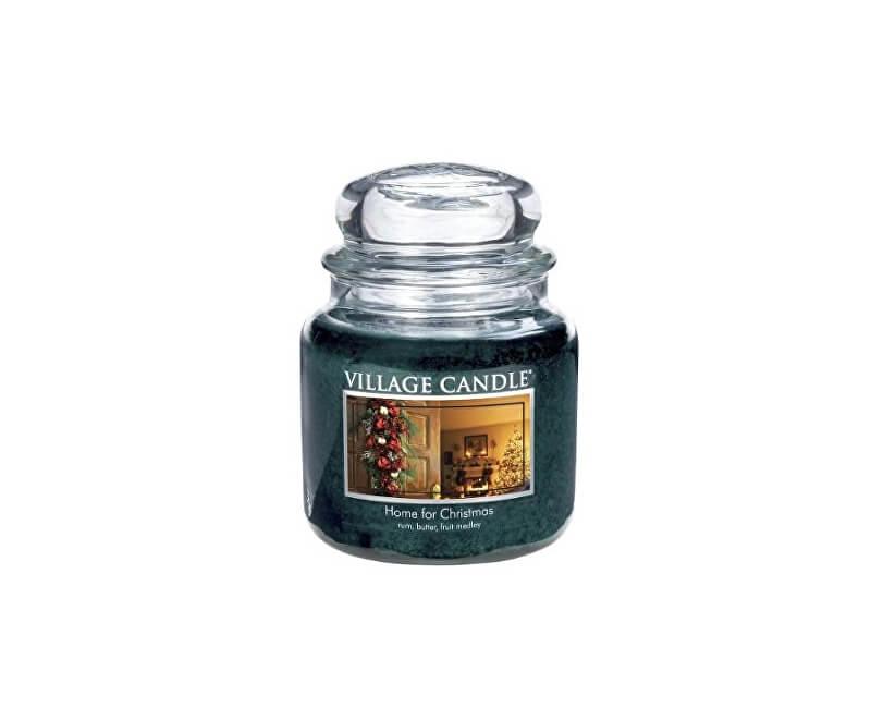 Village Candle Vonná svíčka ve skle Kouzlo Vánoc (Home For Christmas) 390 g