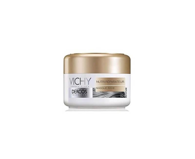 Vichy Vyživující maska pro suché a poškozené vlasy Dercos (Nourishing Reparative Mask) 200 ml