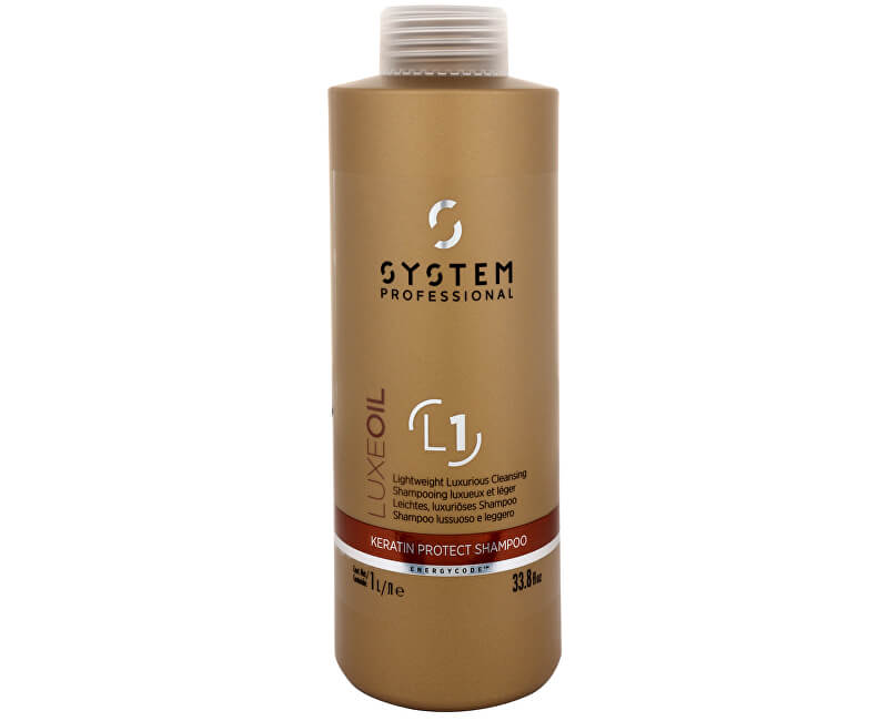 Wella Professionals Luxusní šampon s oleji (Luxe Oil Keratin Protect Shampoo) 1000 ml