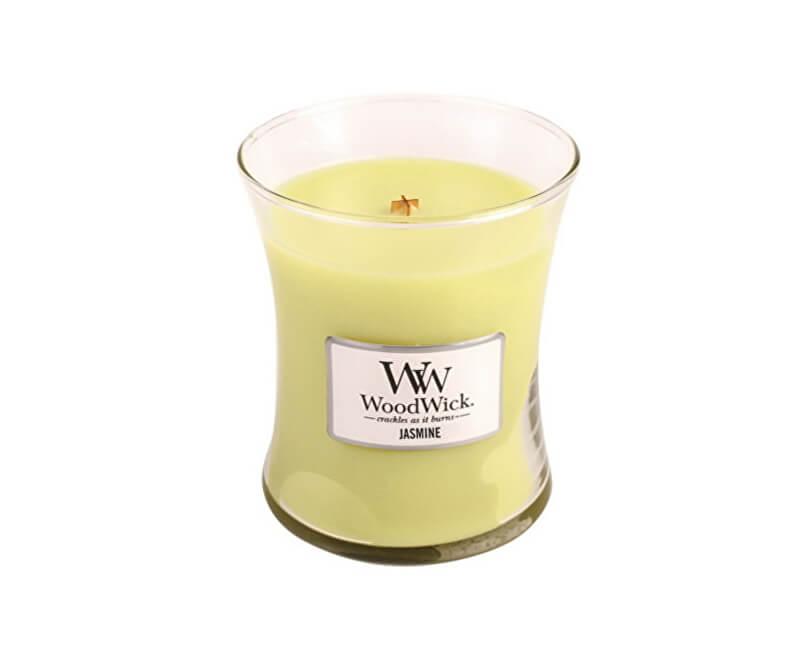 WoodWick Vonná svíčka váza Jasmin 275 g