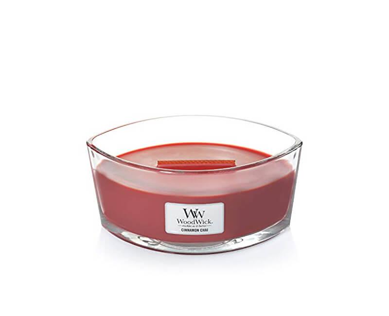 WoodWick Vonná svíčka loď Cinnamon Chai 453 g