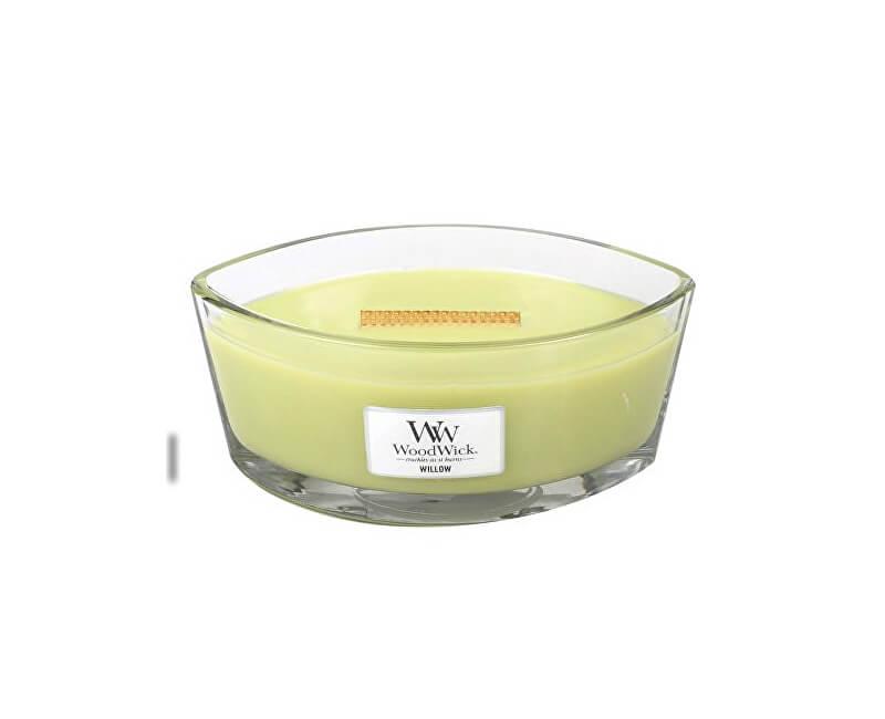 WoodWick Vonná svíčka loď Willow 453 g