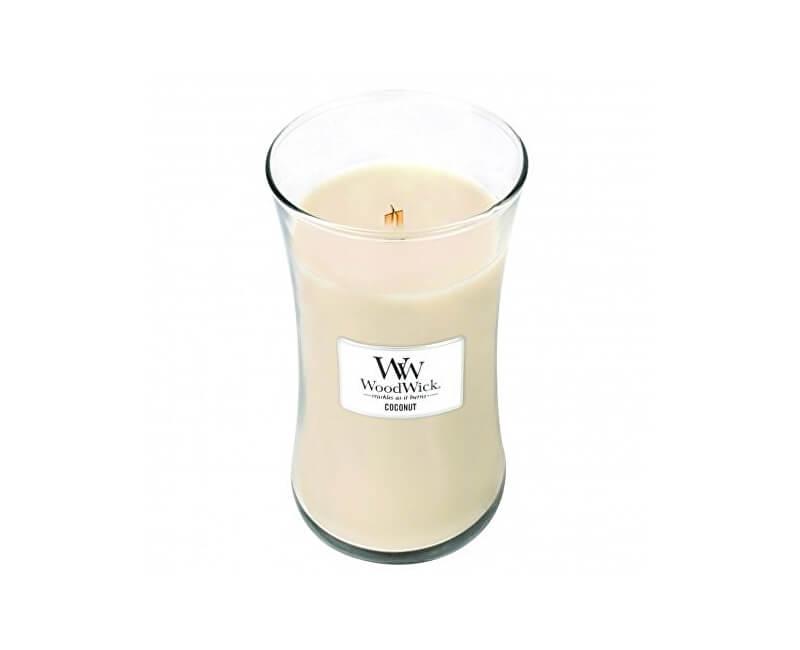 WoodWick Vonná svíčka váza Coconut 609 g