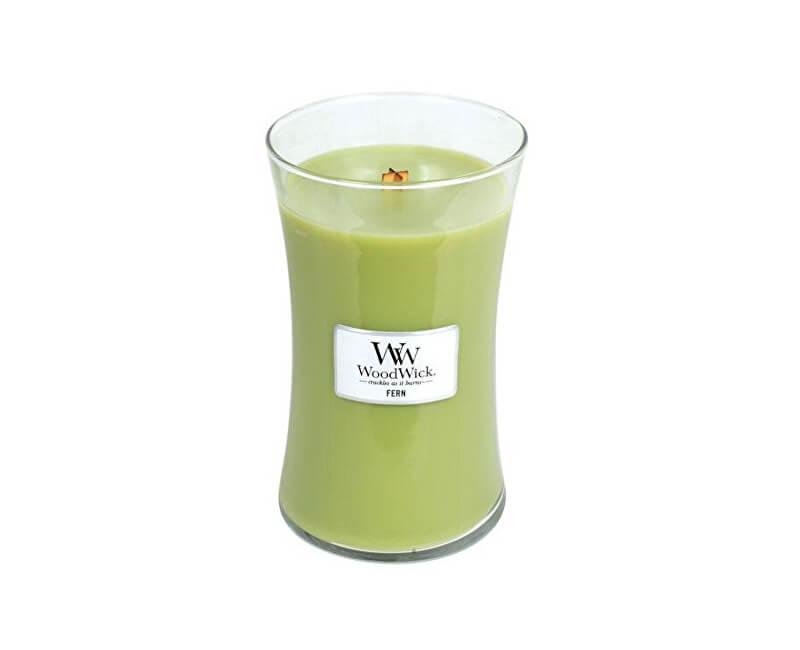 WoodWick Vonná svíčka váza Fern 609 g