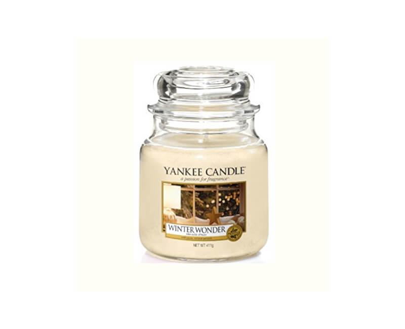 Yankee Candle Vonná svíčka Classic střední Zimní zázrak (Winter Wonder) 411 g