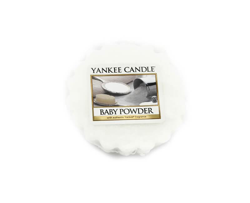 Yankee Candle Vonný vosk Baby Powder 22 g