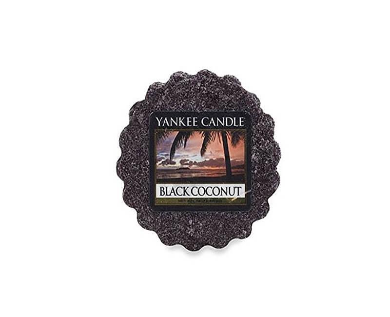 Yankee Candle Vonný vosk Black Coconut 22 g
