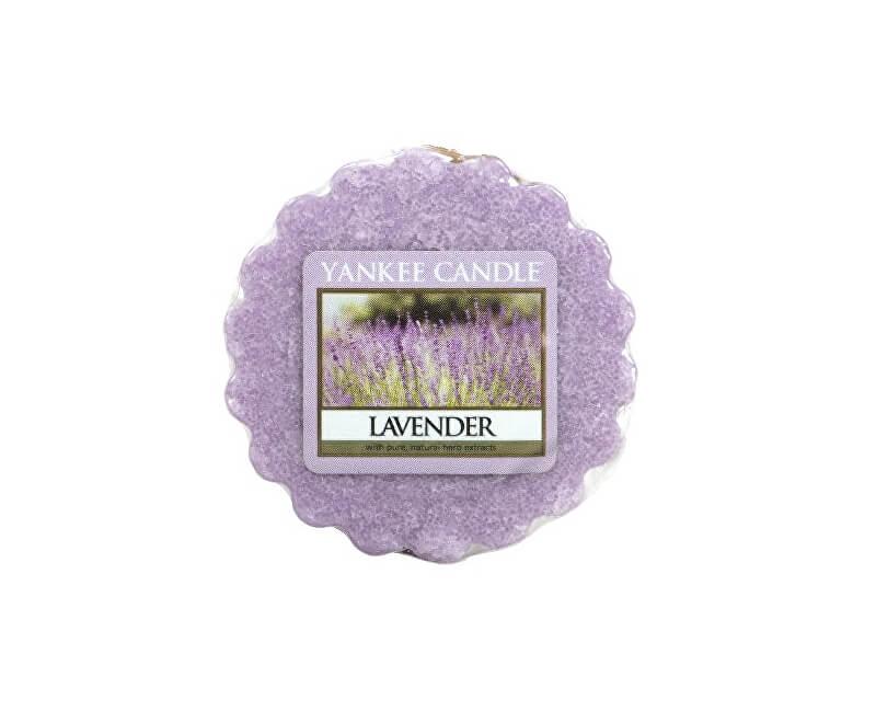 Yankee Candle Vonný vosk do aromalampy Levanduľa (Lavender) 22 g