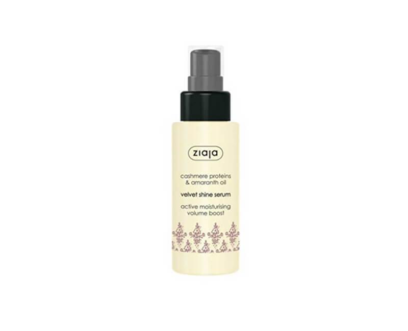Ziaja Sérum na vlasy pro zvýšení lesku Cashmere Proteins & Amaranth Oil 50 ml