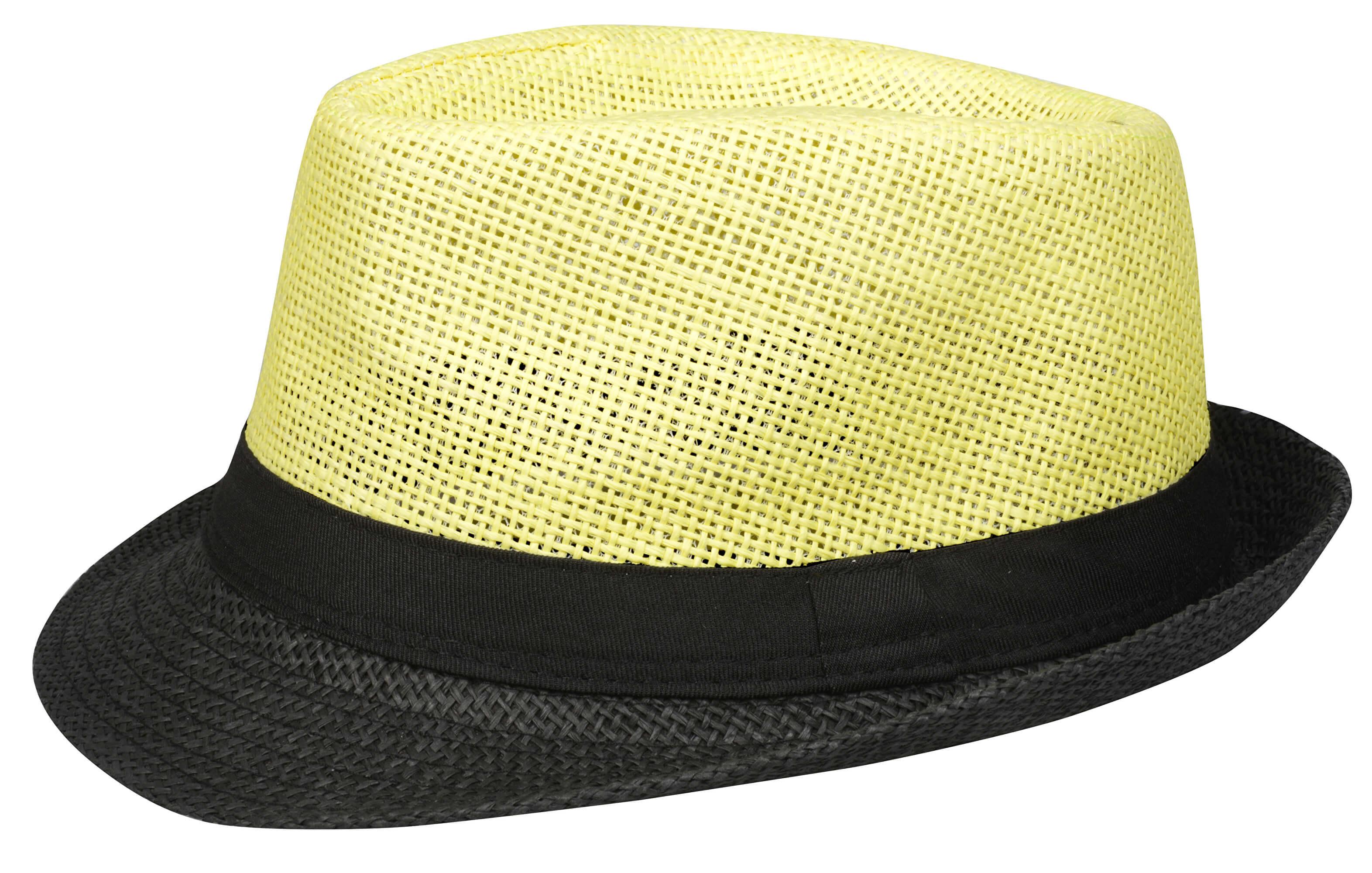 ffa54706c82 Art of Polo Letní klobouk dvoubarevný - zelenožlutý cz15160.7 ...