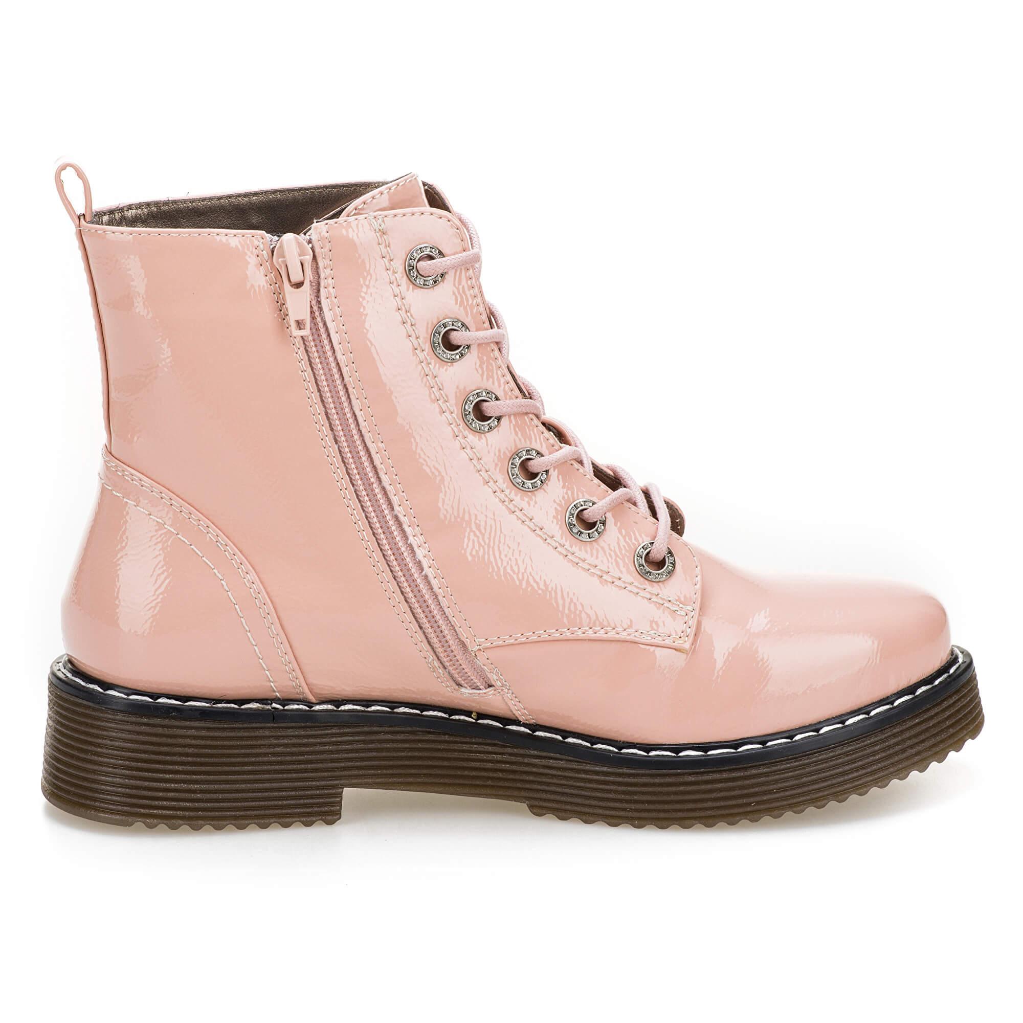 1c022c17c55 Dámské kožené kotníkové boty 431549325900-3400 Rose