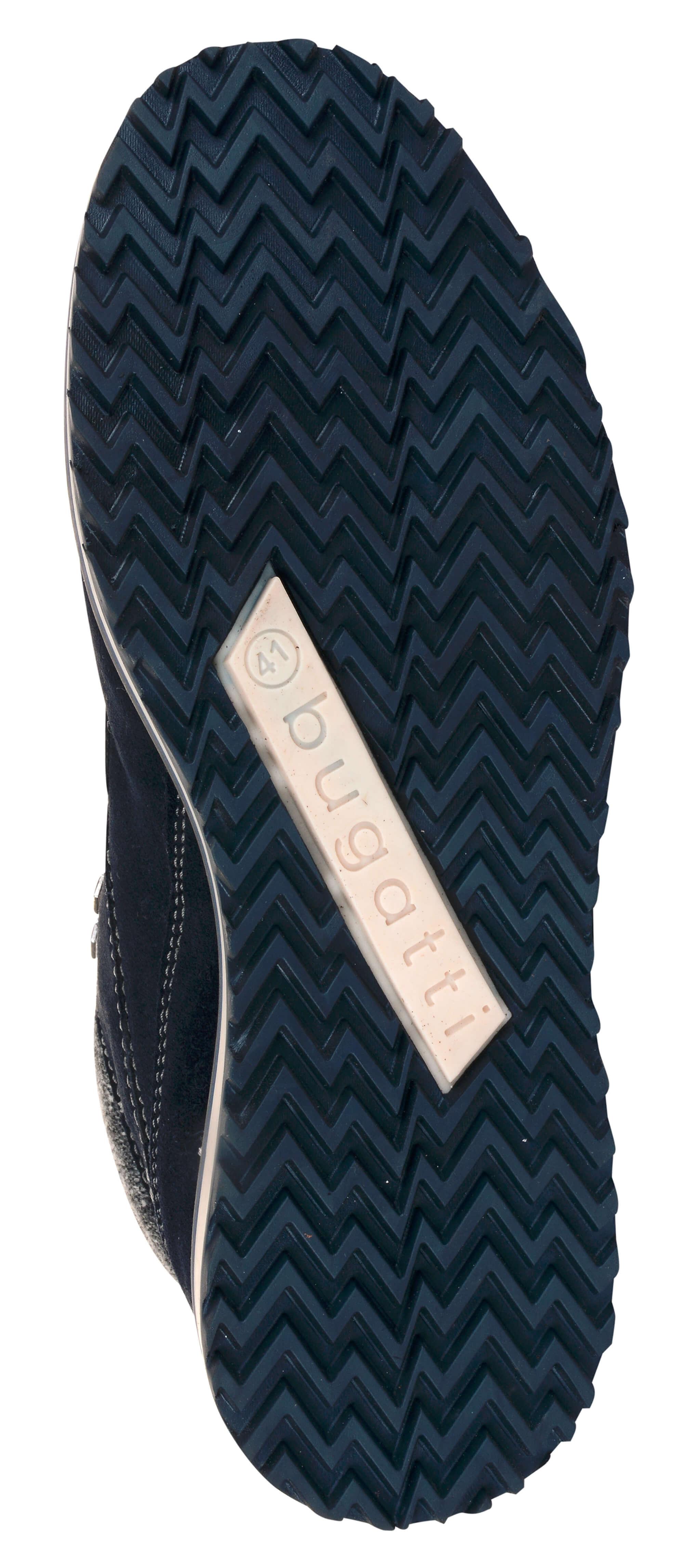 Bugatti Pánske kožené členkové topánky 321607501400-4100 Dark Blue.  Predchádzajúci  Ďalšie   761b7073c1e