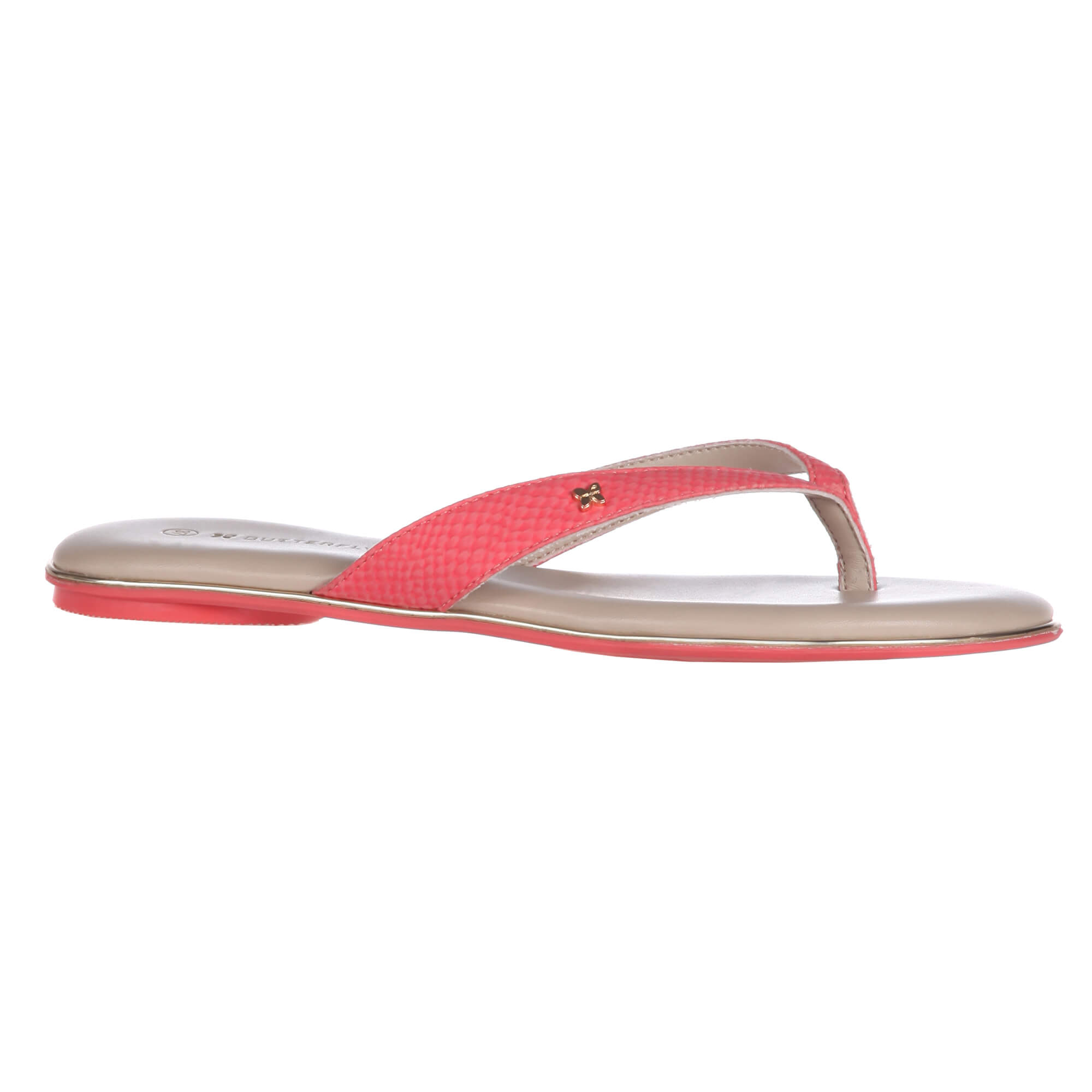 9d6dc7746fad15 Butterfly Twists Folding Flip Flops Lola Coral Snake BT27-003-232 ...