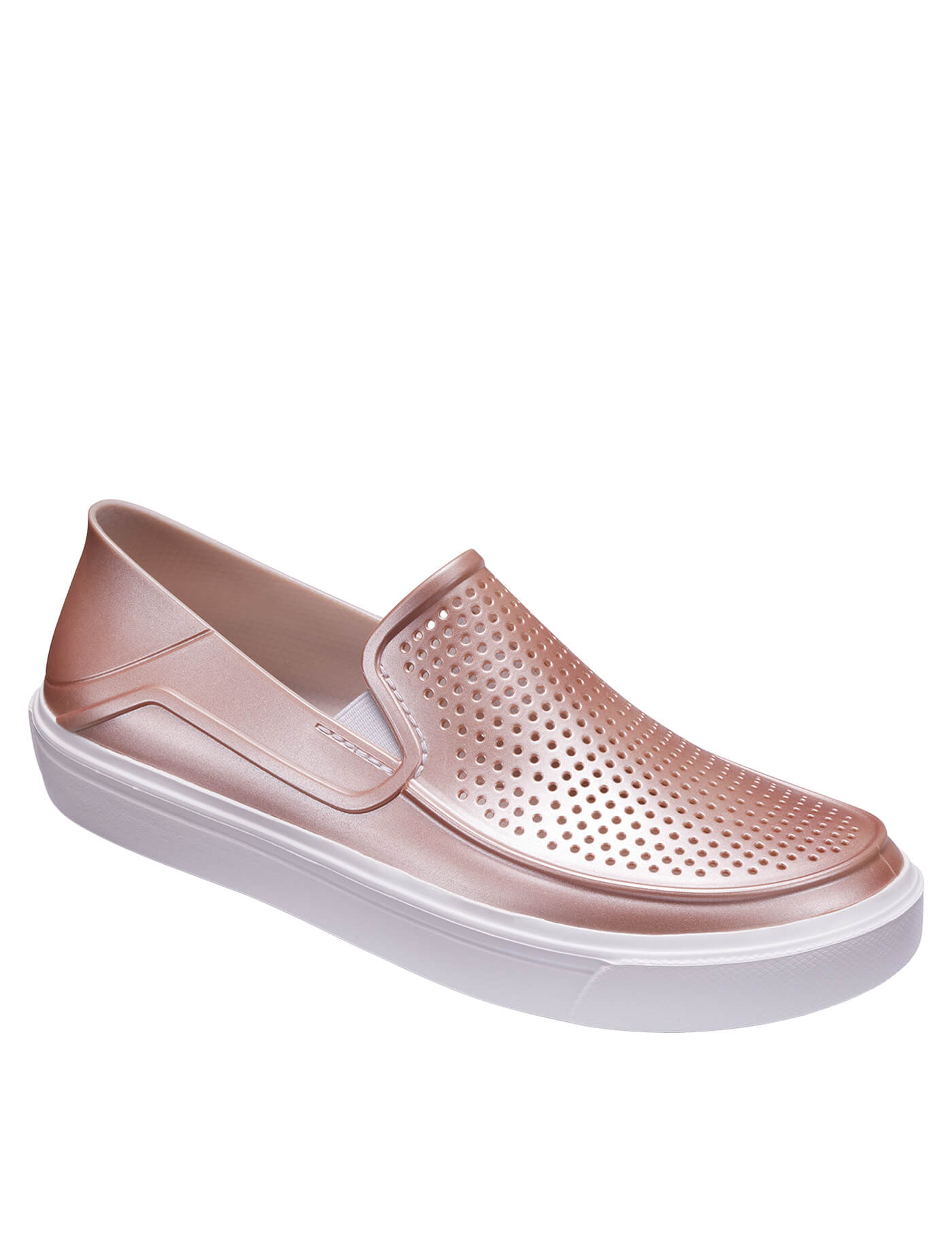 a8d240e9120 Crocs Dámské slip-on CitiLane Roka Metallic Rose Dust 205154-6OD ...