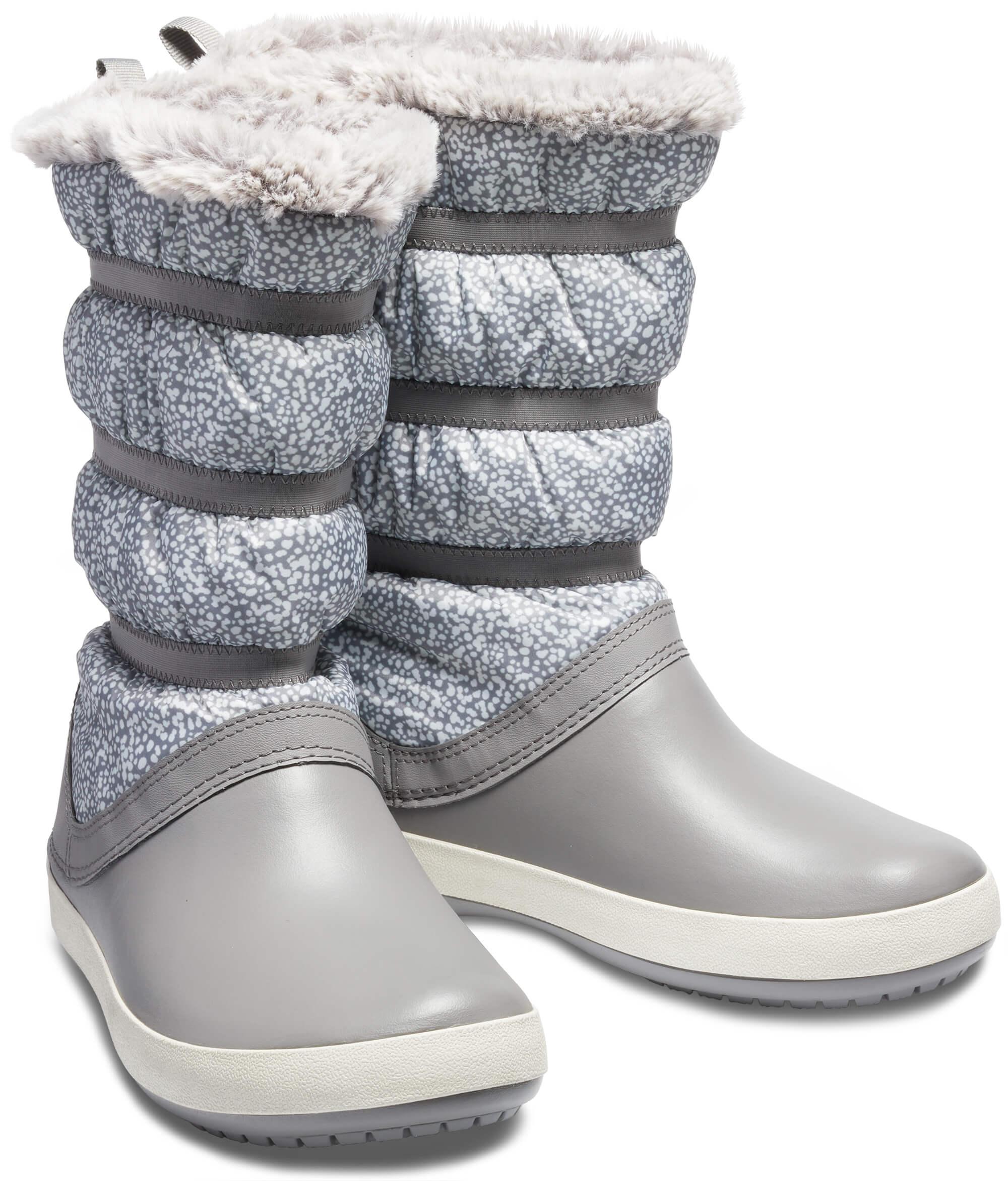 Crocs Dámské sněhule Crocband Winter Boot 205314-998 Doprava ZDARMA ... e2e4ccd04a