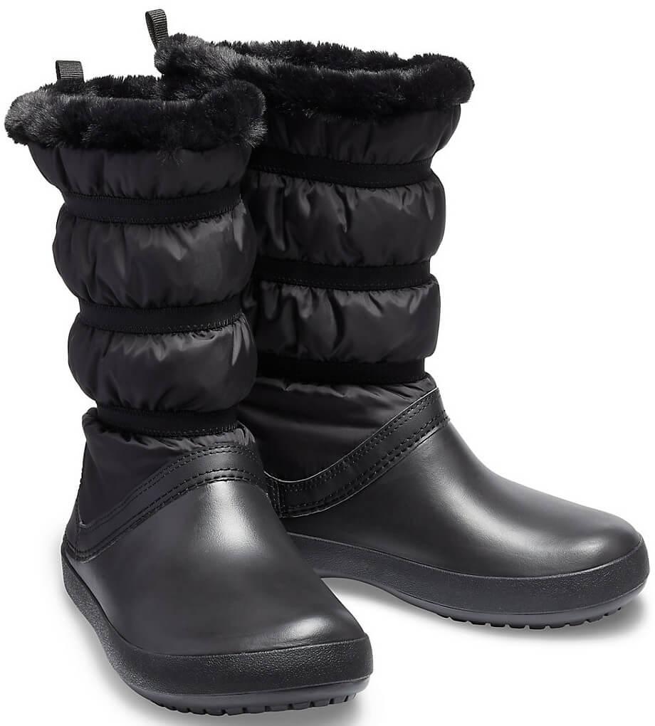 Crocs Dámské sněhule Crocband Winter Boot 205314-060 Doprava ZDARMA ... d9c907d84a