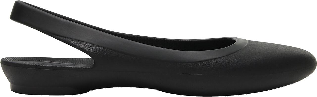 Crocs Dámské baleríny Crocs Eve Slingback Black 204955-001 ... 87fc196030