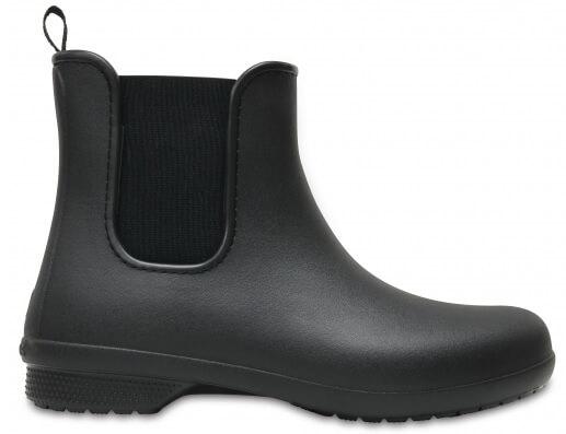 Crocs Dámské holínky Crocs Freesail Chelsea Boot W Black Black 204630-060 a3d183ac54