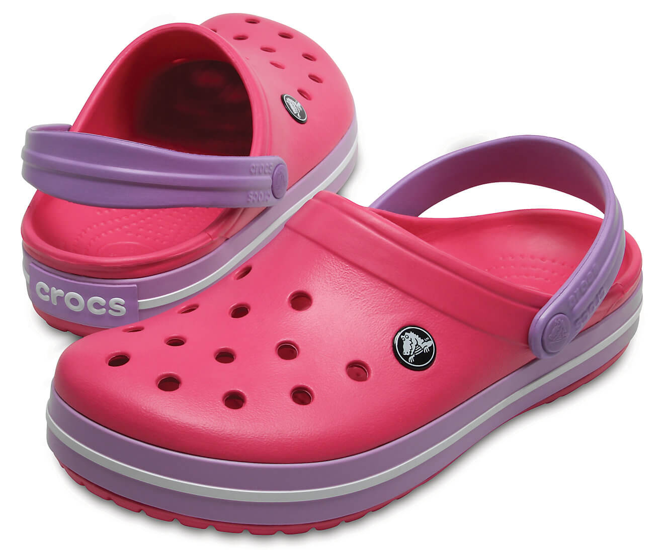 Crocs Pantofle Crocband Paradise Pink Iris 11016-6OC  2a260a0882