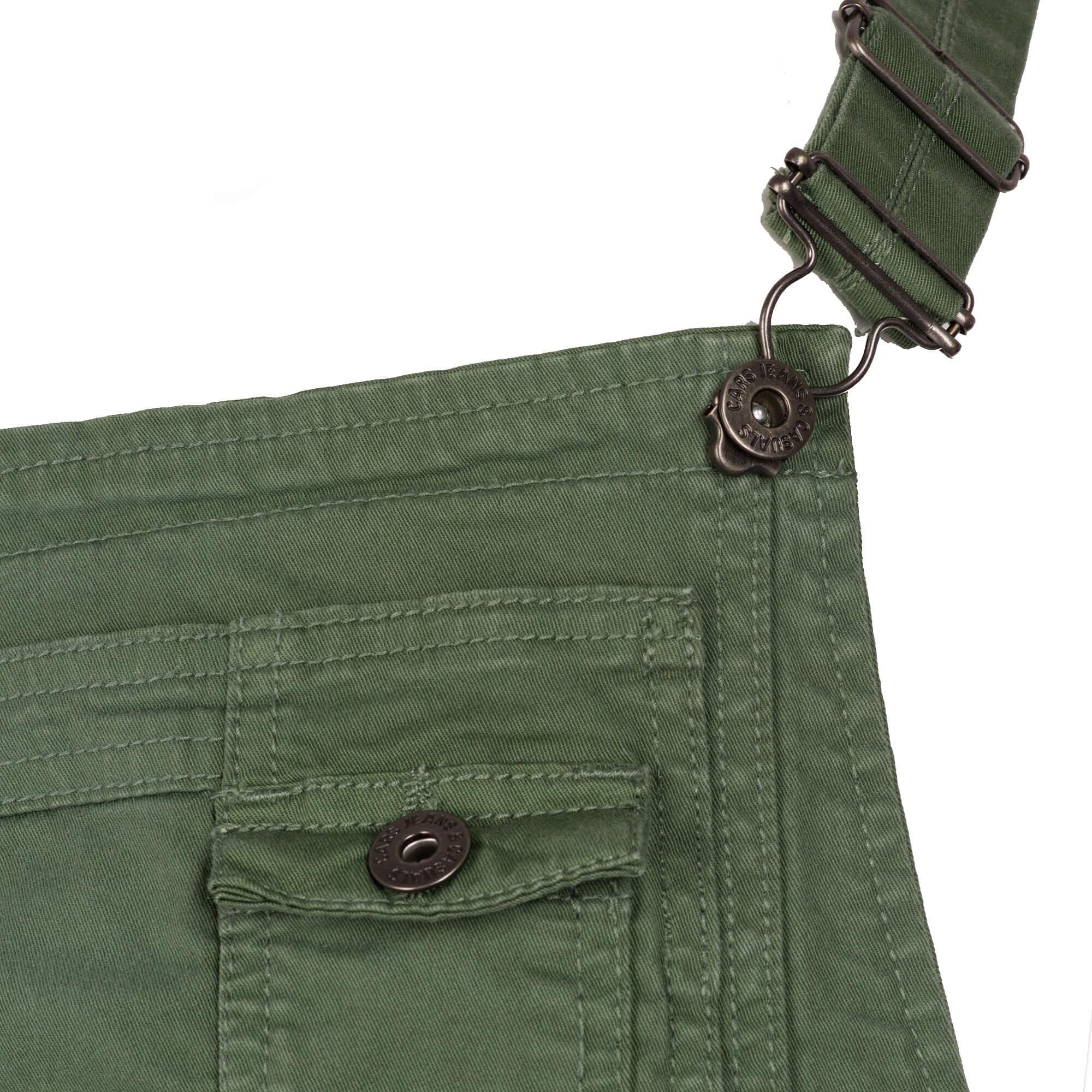 18c9821cce64 Cars Jeans Dámske zelené nohavice s trakmi Dancer Army 4311819 ...