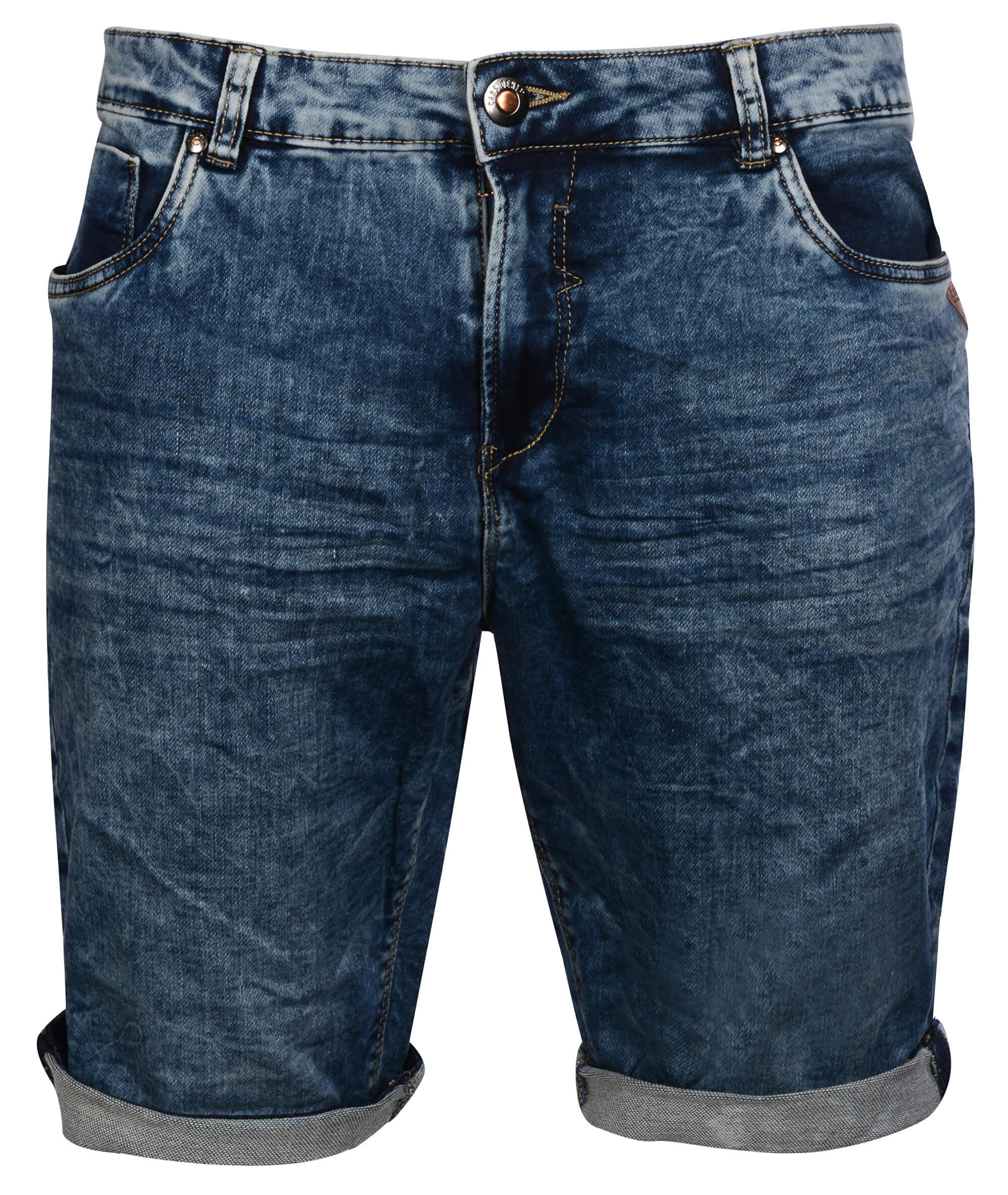 7a32025fcfc Cars Jeans Pánské modré kraťasy Arizona STW 4962806
