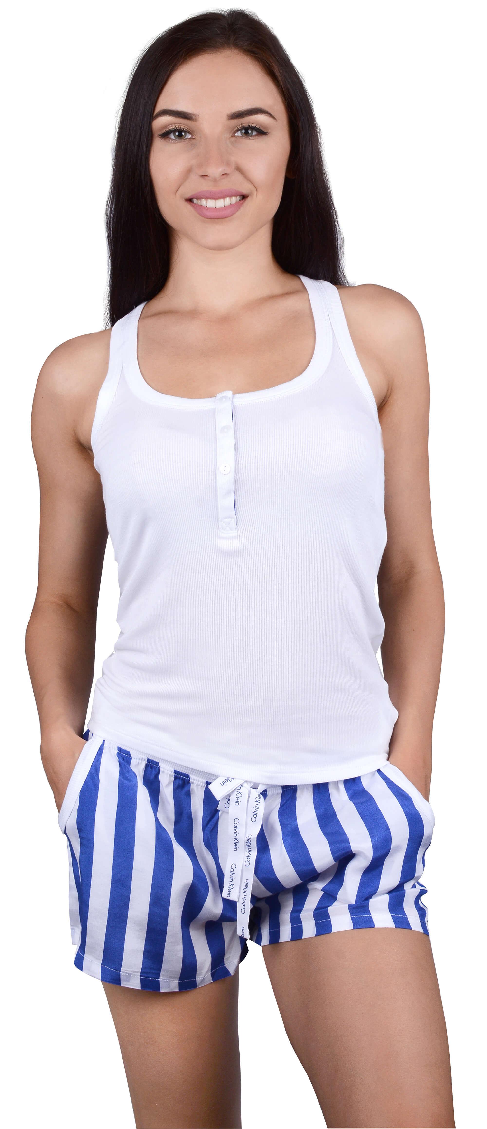 4388994128 Calvin Klein Dámske pyžamo Millenial PJ Set Attract   db Stripe Vertical  Print QS6025E. Predchádzajúci  Ďalšie