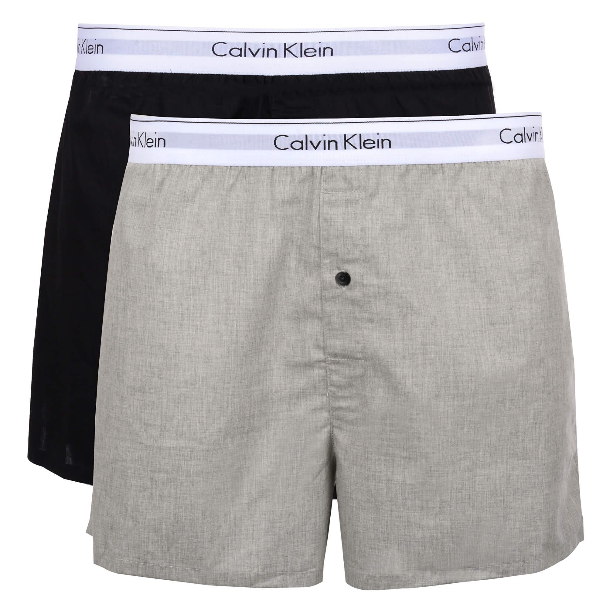 e7f5d8f711c7f Calvin Klein Pantaloni scurti Modern Cotton Stretch Slim Boxer 2P  NB1396A-BHY