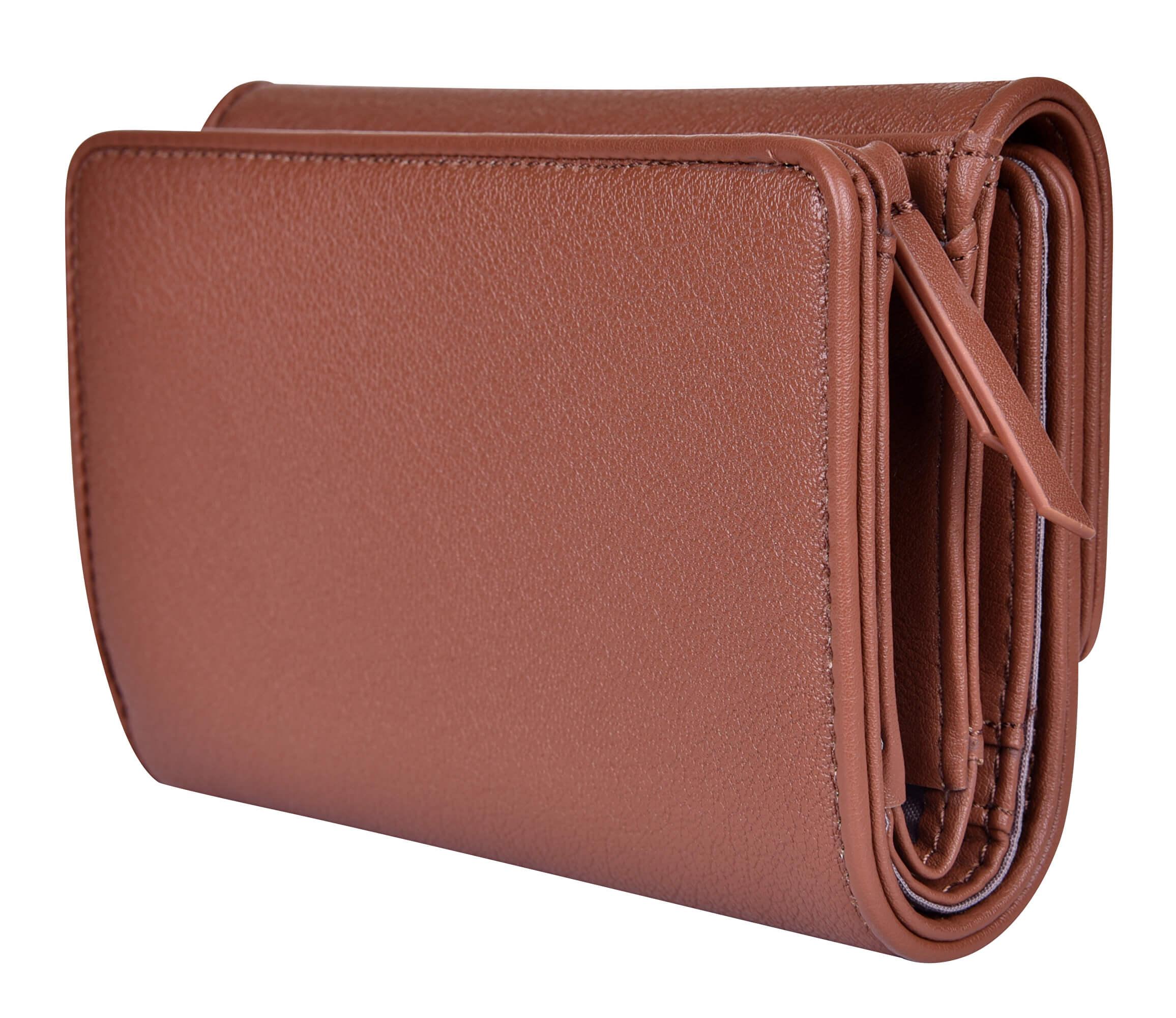 Calvin Klein Női pénztárca Flap francia Clutch - Brown Akcióban · A kép  csak illusztráció - a termék különböző színű. Előző  Következő   e4d8ad43fc