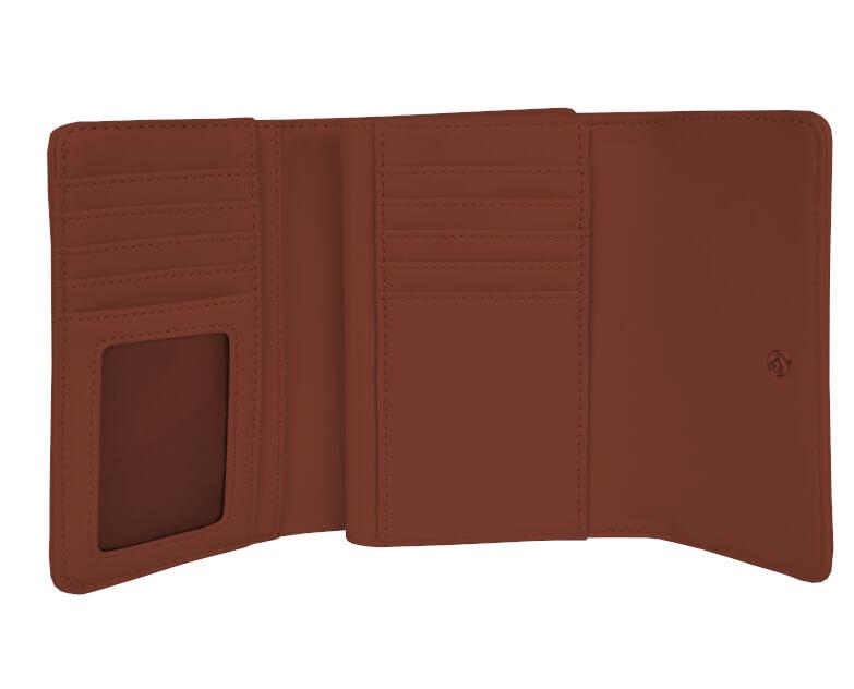 Calvin Klein Női pénztárca Flap francia Clutch - Brown Akcióban · A kép  csak illusztráció - a termék különböző színű 15a0a46ecd