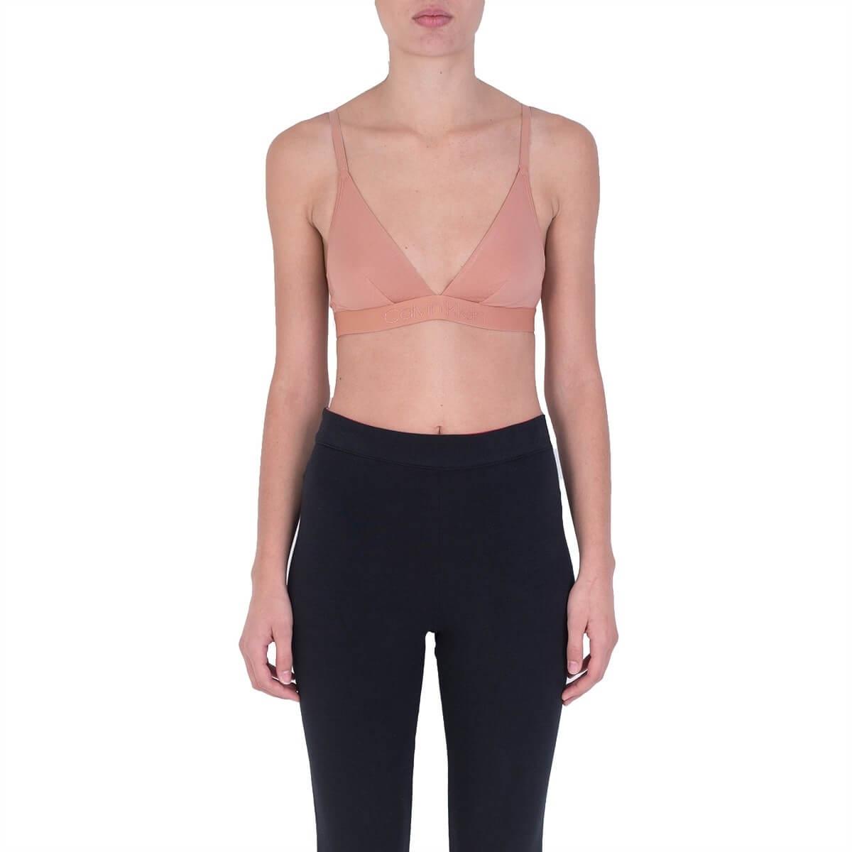 Calvin Klein Női melltartó Tonal Logo Unlined Triangle QF4945E-YUT Unity Új.  Előző  Következő   b895ad0535