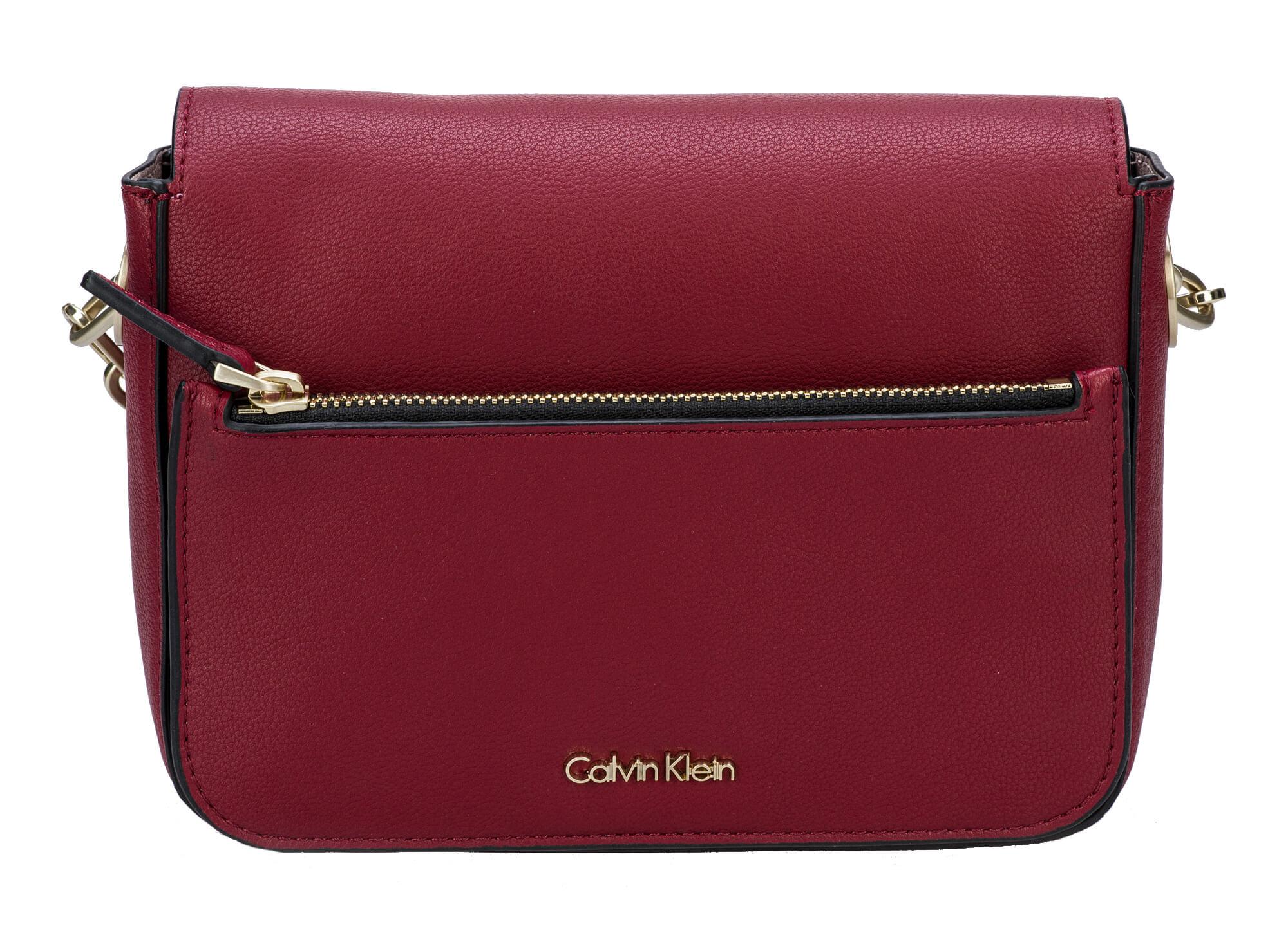 Calvin Klein Dámska kabelka Night Out Small Shoulder Bag Red Dahlia ... 64793fcc80f