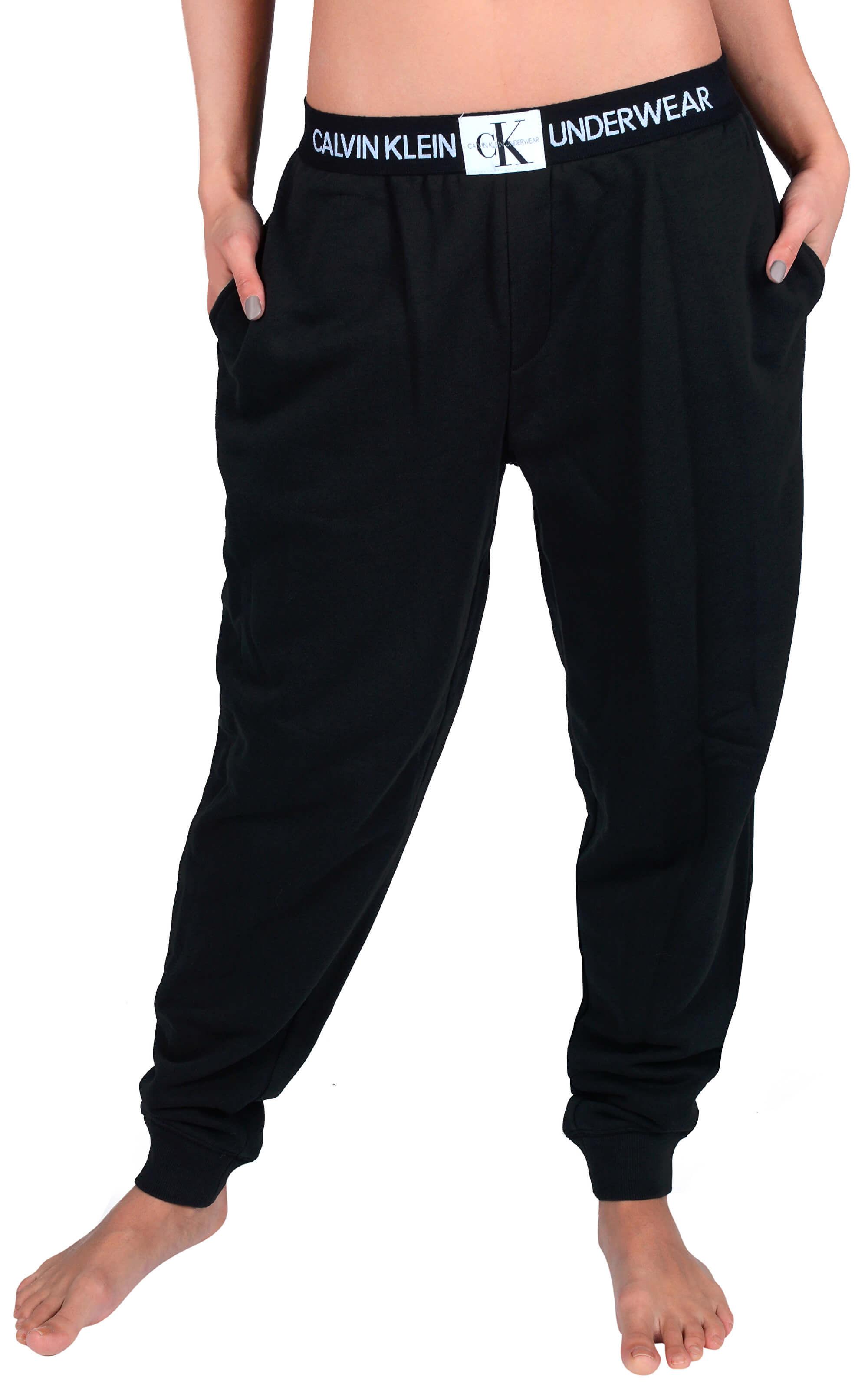 0baf2b6359f Calvin Klein Dámské tepláky Jogger Black QS6031E-001 Doprava ZDARMA ...