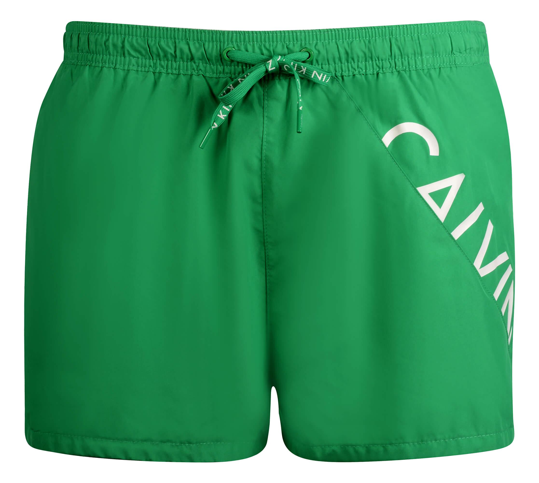Calvin Klein Pánské koupací šortky Short Drawstring KM0KM00161 Mint ... 8b9d457209