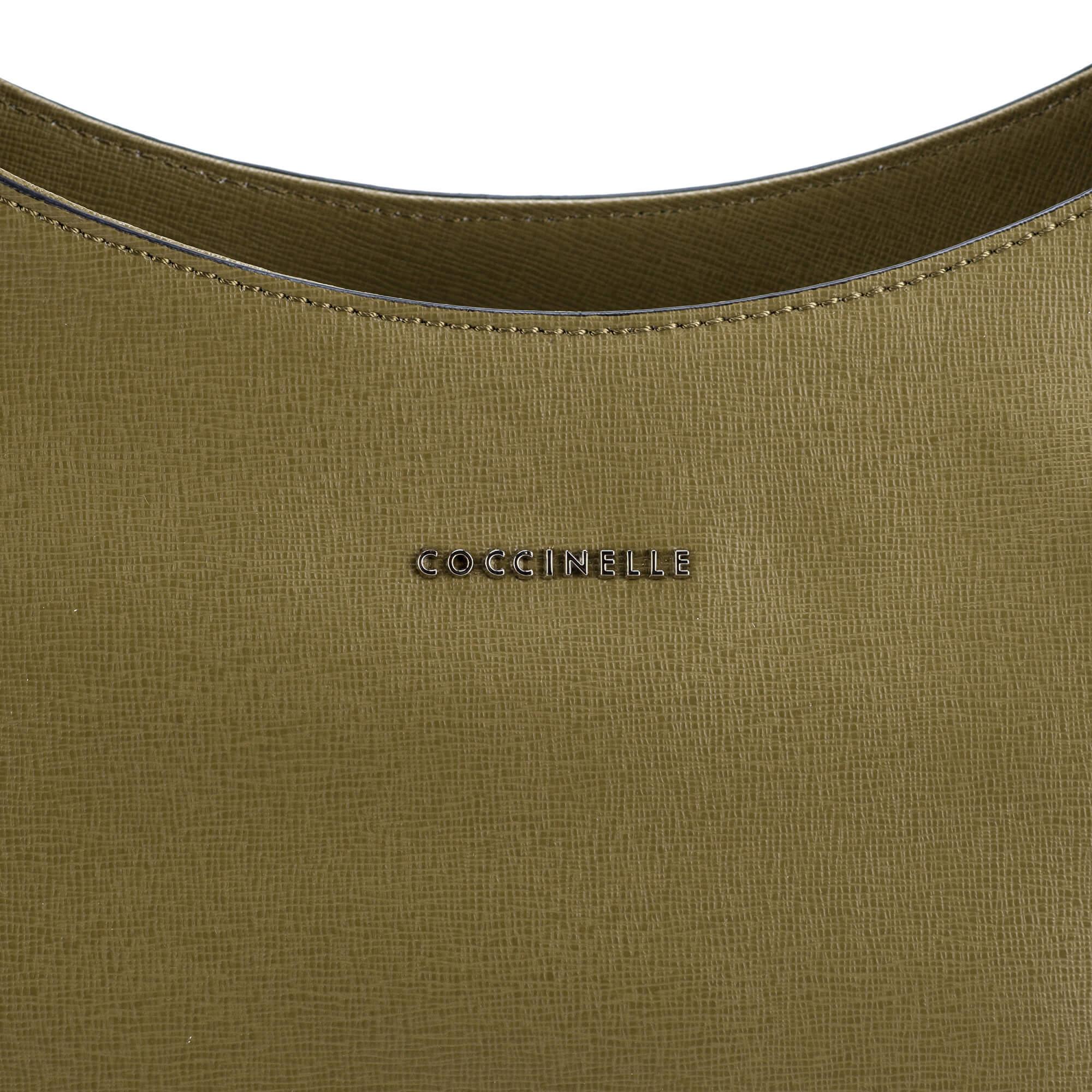 Coccinelle Luxusní kožená kabelka Yamilet. Předchozí  Další   9c4f8a94721