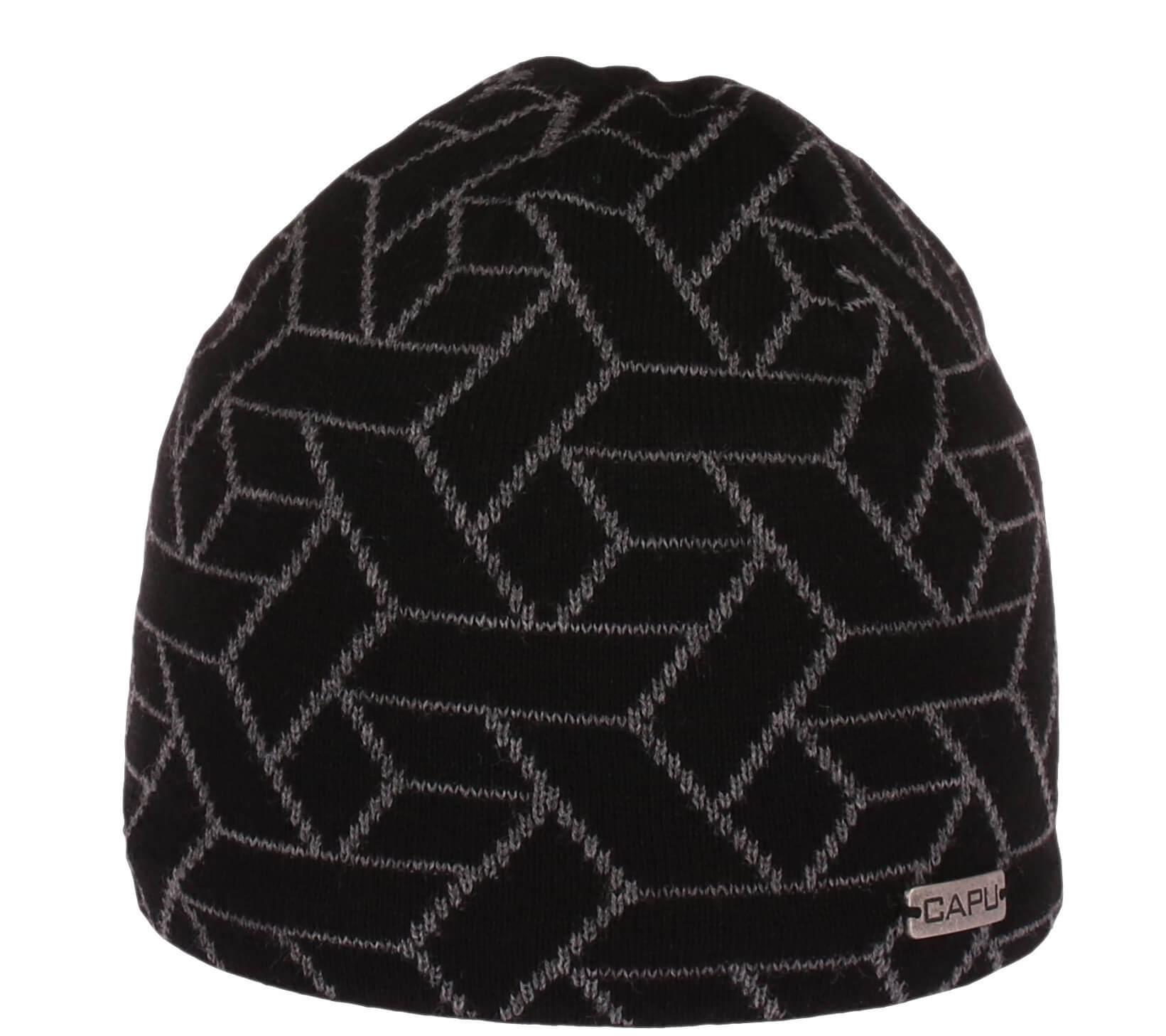 CAPU Téli kalap 1671-F Grey  544bbb064e