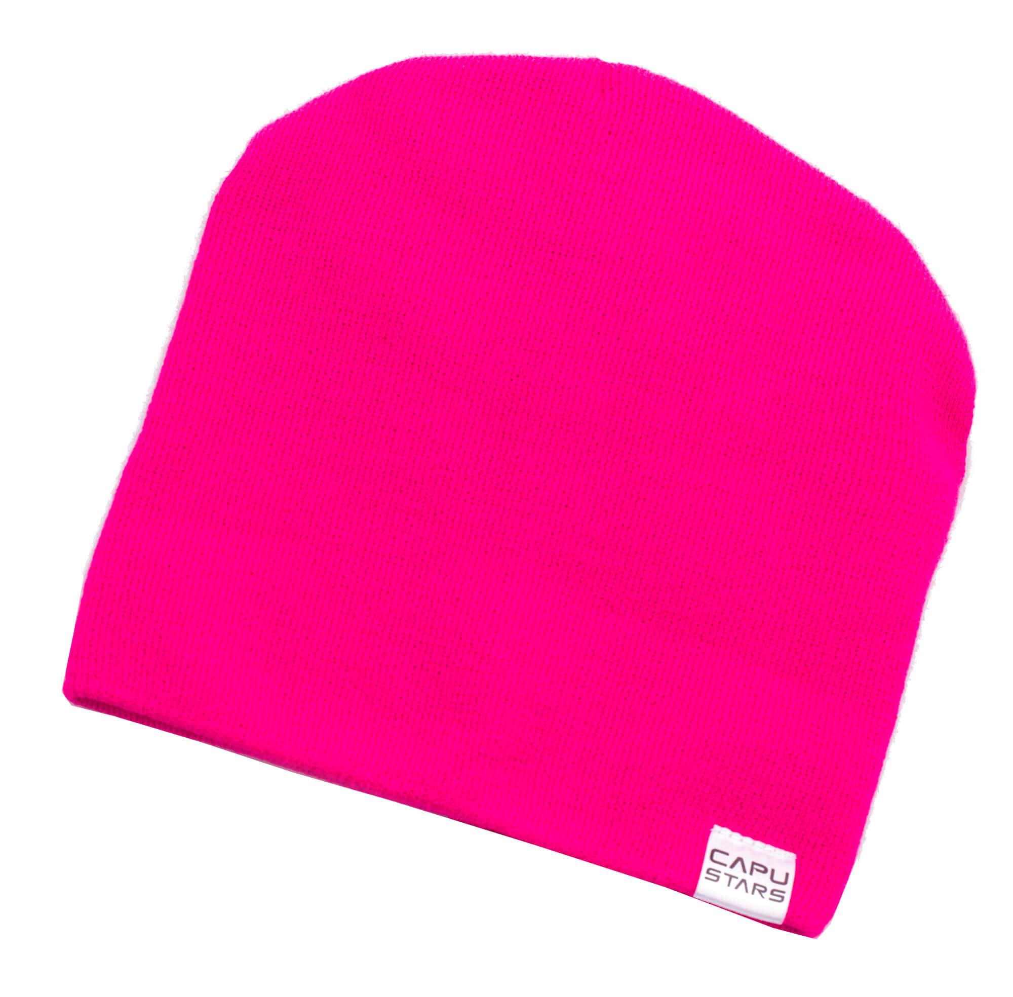CAPU Téli sapka 1737-B Pink  da572a6343