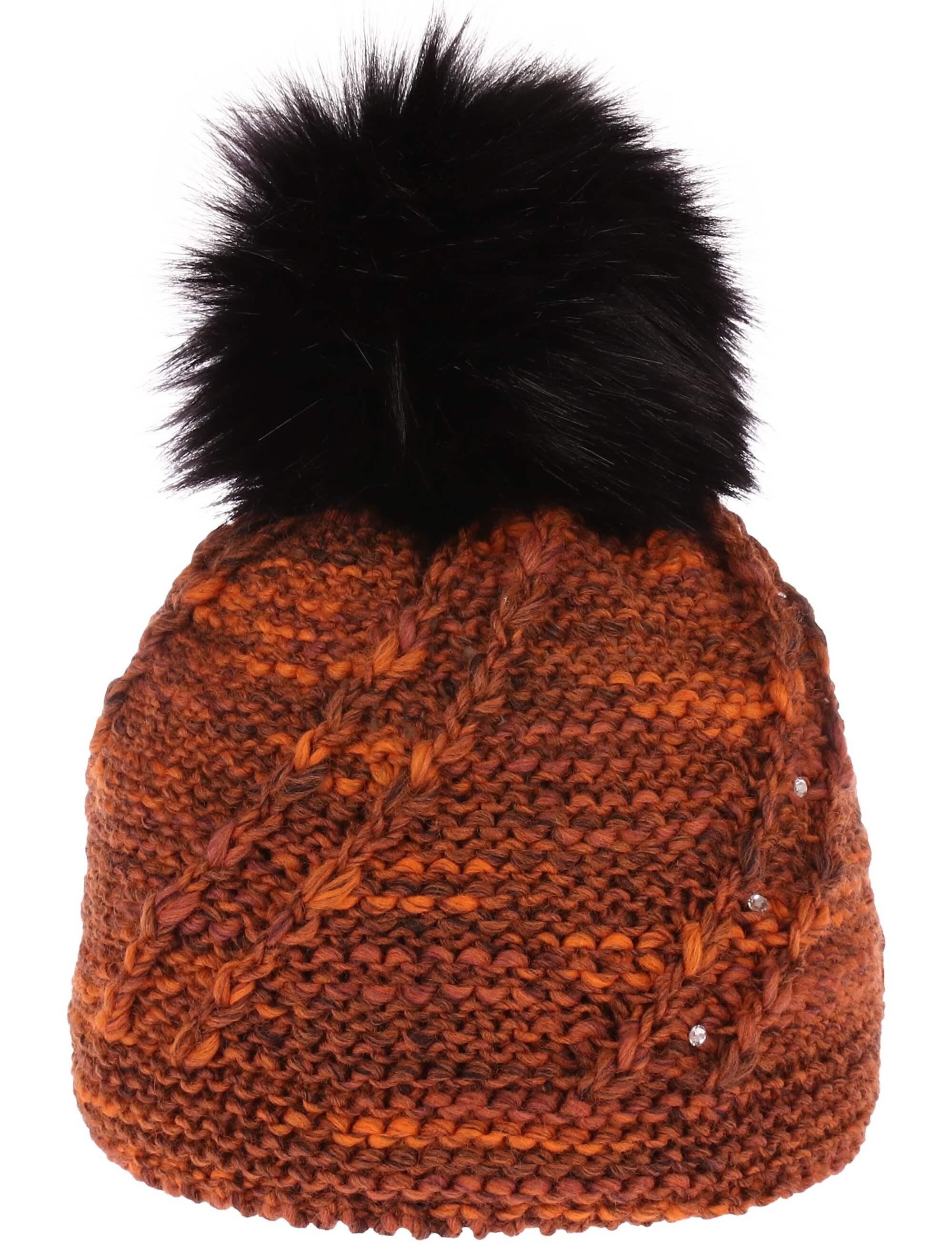 CAPU Zimní čepice 392-C Brown  57446482c1