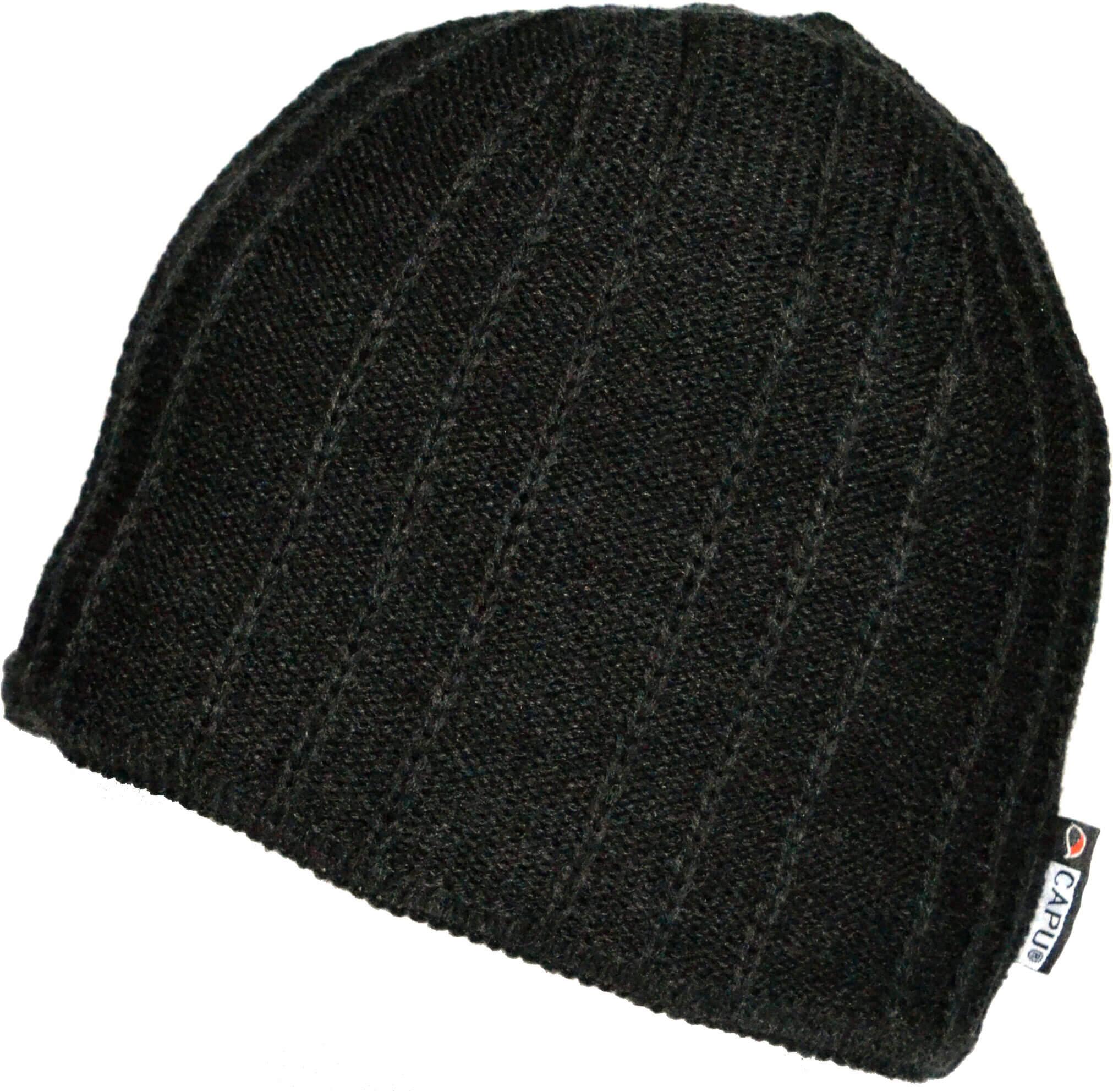 CAPU Téli kalap Black 4047-A  20f7c123be